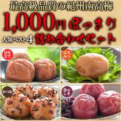 【送料無料】人気の味ベスト4詰合せセット